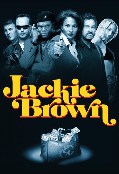Bridget Fonda Jackie Brown Poster