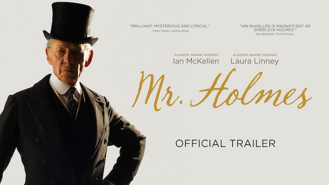 Mr. Holmes, In Theaters July 17th